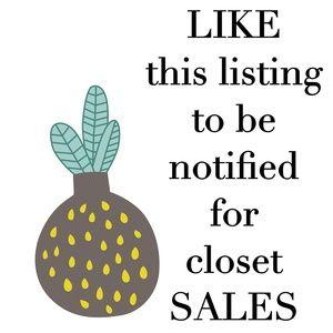 Sale listing 💛
